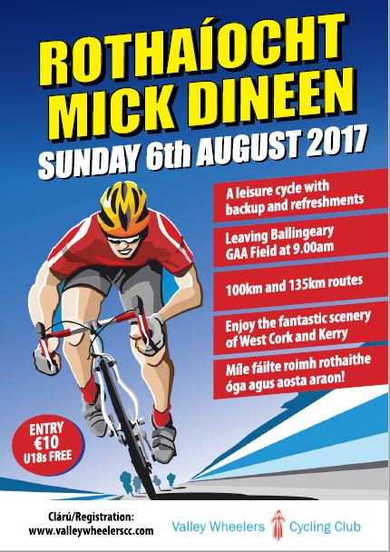 Mick Dineen Cycle 2017